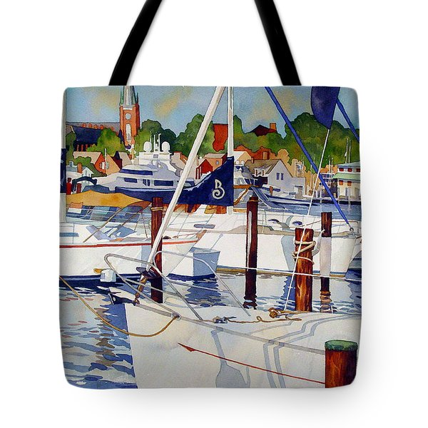 A View From The Pier Tote Bag