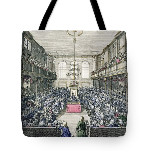 A View Of The House Of Commons Tote Bag