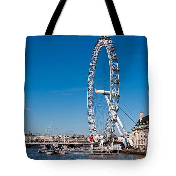 A View Of The London Eye Tote Bag