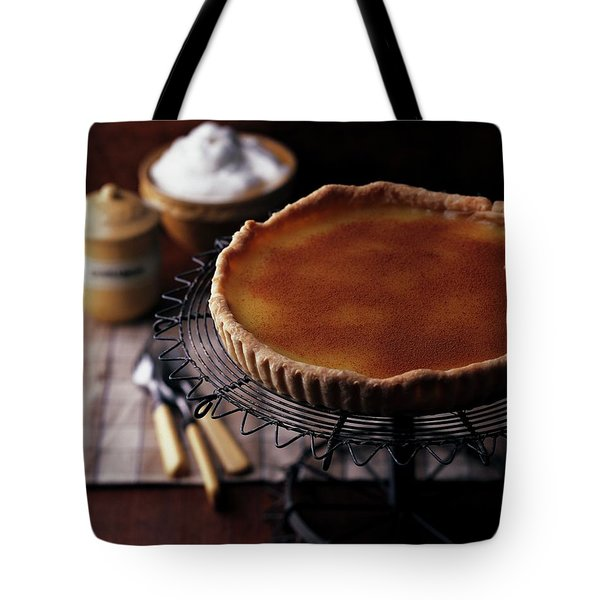 A Vinegar Pie On A Wire Stand Tote Bag