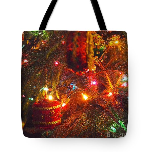 Tote Bag featuring the photograph A Vintage Christmas  by Laurie Lundquist