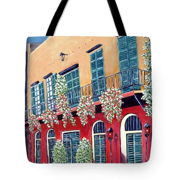 A Visit To New Orleans Tote Bag