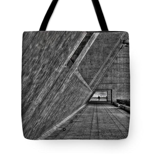 A Visitor Tote Bag by Mark Alder