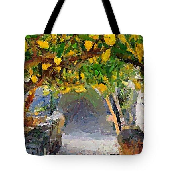 A Voult Of Lemons Tote Bag