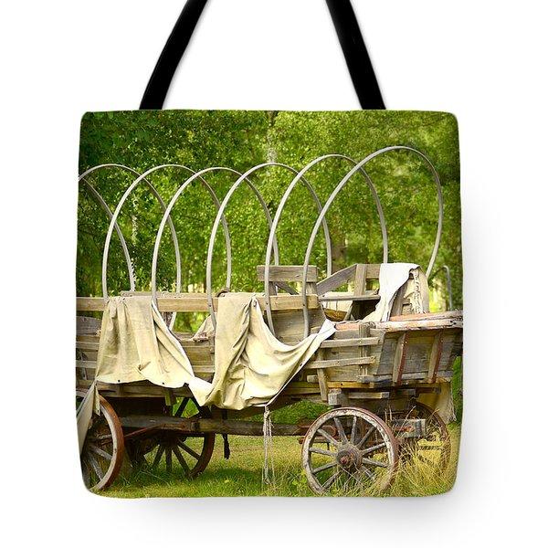A Wagon Tote Bag
