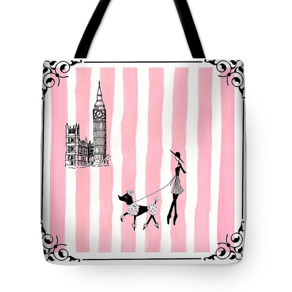 A Walk In London Tote Bag