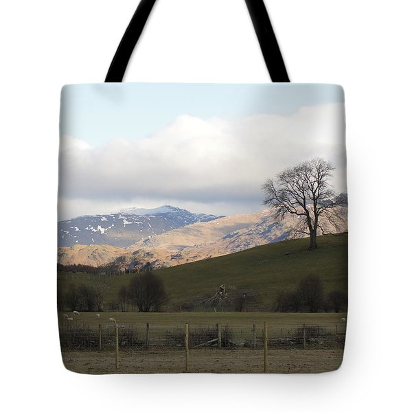Tote Bag featuring the photograph A Walk In The Countryside In Lake District England by Tiffany Erdman