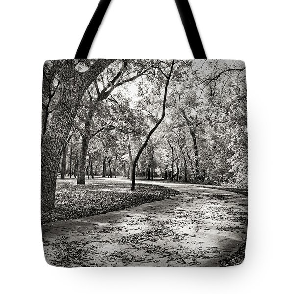 A Walk In The Park Tote Bag by Darryl Dalton