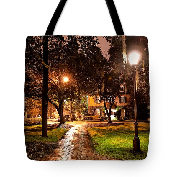 A Walk In The Park Tote Bag by Renee Sullivan