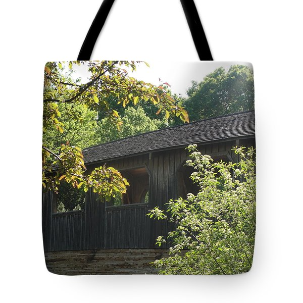 Tote Bag featuring the photograph A Walk In The Park by Tiffany Erdman