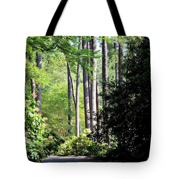 A Walk In The Shade Tote Bag