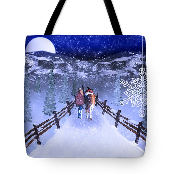 A Walk In The Snow 2 Tote Bag