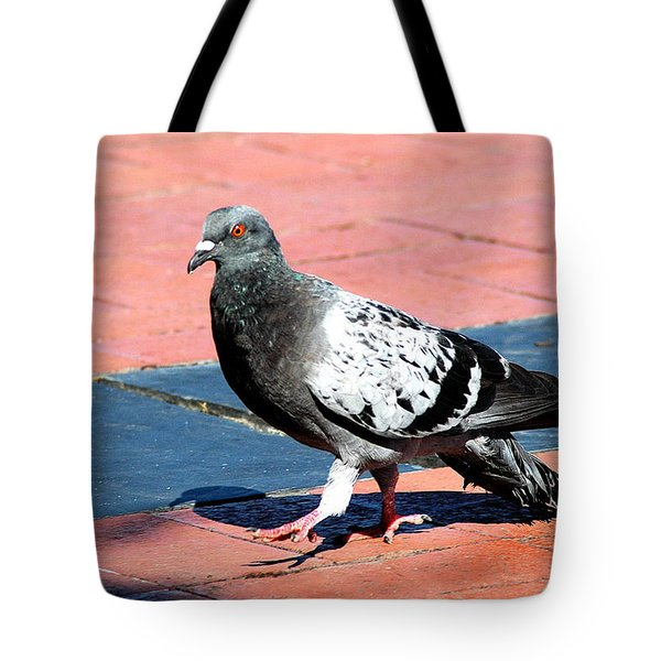A Walk In The Square Tote Bag