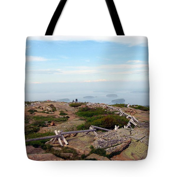 Tote Bag featuring the photograph A Walk On The Mountain by Judith Morris