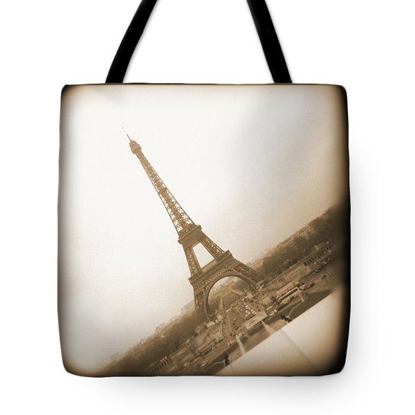 A Walk Through Paris 11 Tote Bag by Mike McGlothlen