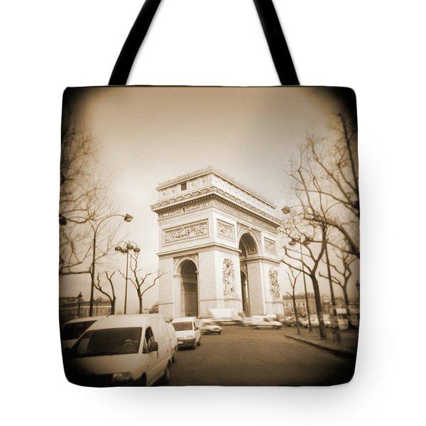 A Walk Through Paris 2 Tote Bag by Mike McGlothlen