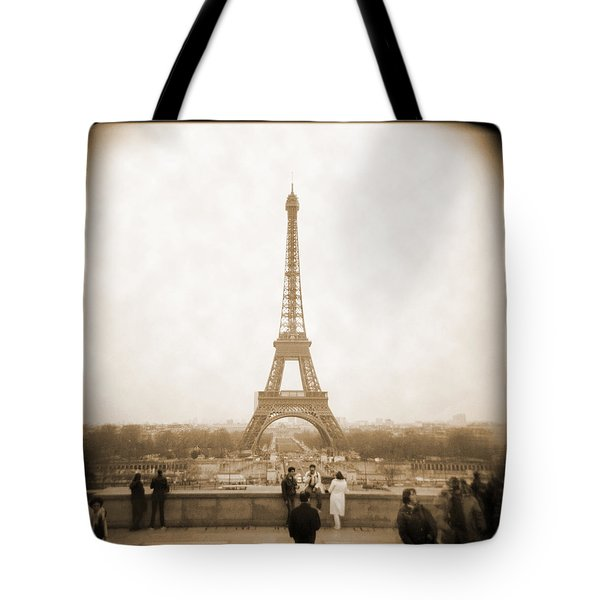 A Walk Through Paris 5 Tote Bag by Mike McGlothlen