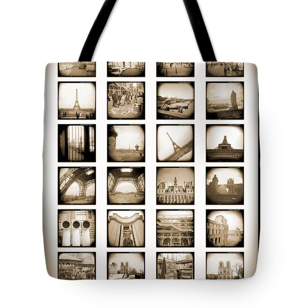 A Walk Through Paris Tote Bag by Mike McGlothlen