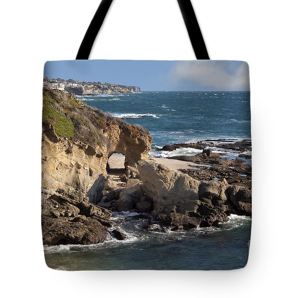 A Walk Through The Rocks Tote Bag by Loriannah Hespe
