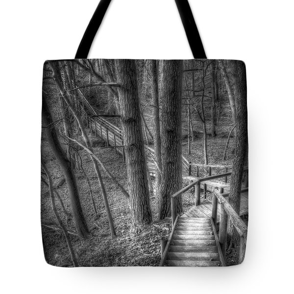 A Walk Through The Woods Tote Bag