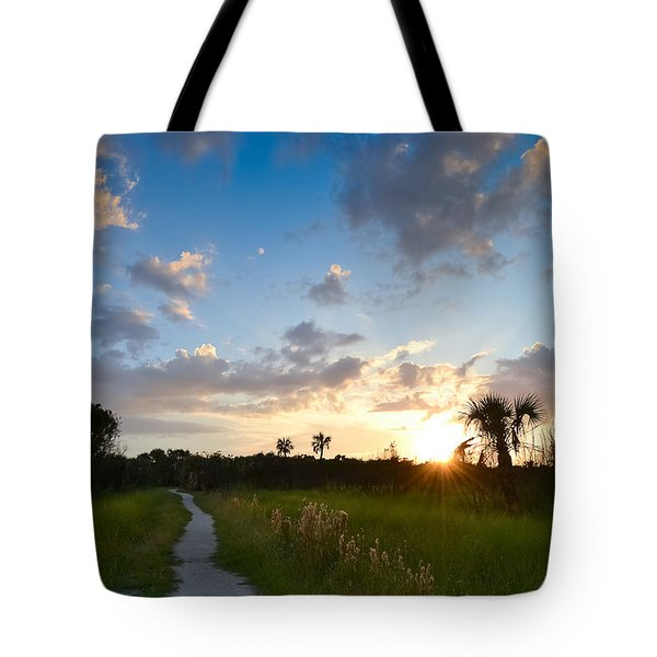 Tote Bag featuring the photograph A Walk With You... by Melanie Moraga