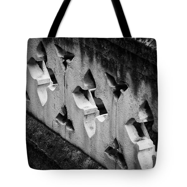 A Wall Between Gardens Tote Bag by Christi Kraft