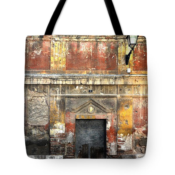 A Wall In Decay Tote Bag by RicardMN Photography