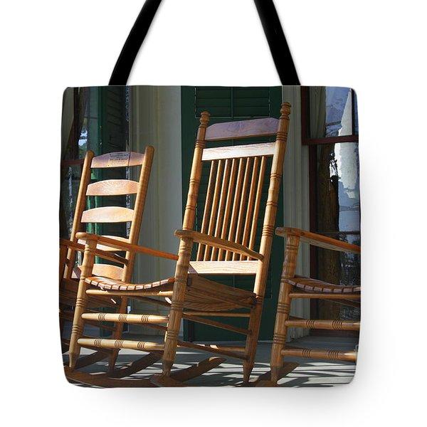 A Warm Beauvoir Welcome Tote Bag by Carol Groenen
