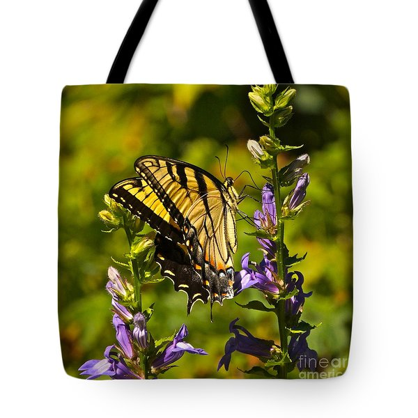 A Warm September Day In The Garden Tote Bag