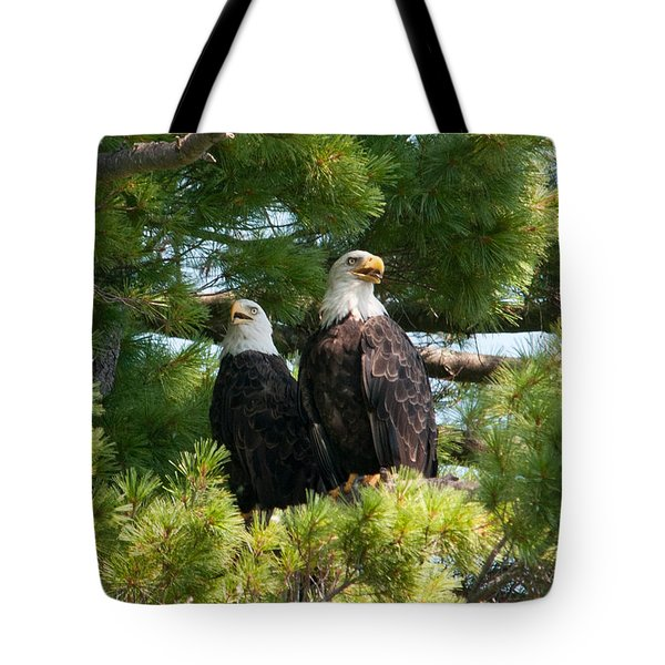 A Watchful Pair Tote Bag