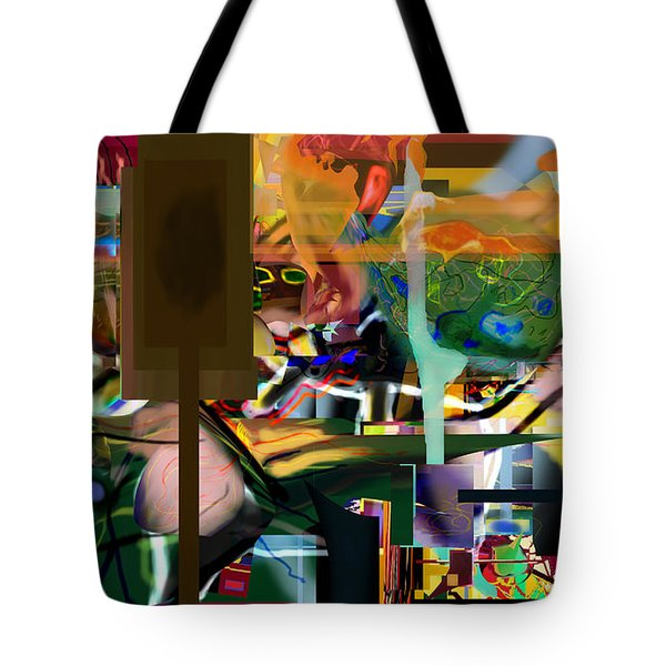 A Way To Bring The World To Tsheuvah 10 Tote Bag by David Baruch Wolk