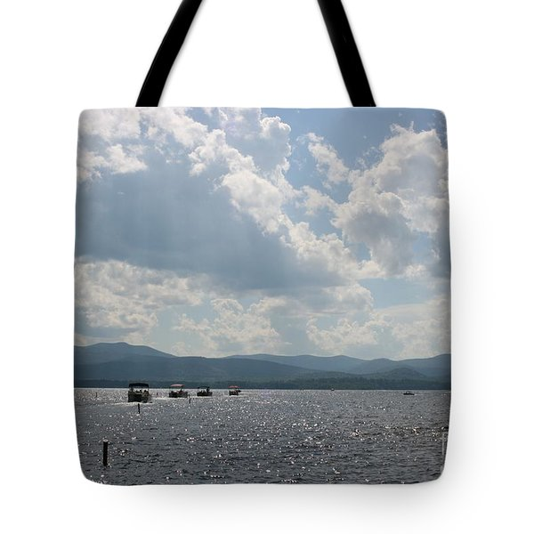 A Weekend On The Water Tote Bag