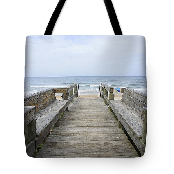 Tote Bag featuring the photograph A Welcoming View by Laurie Perry