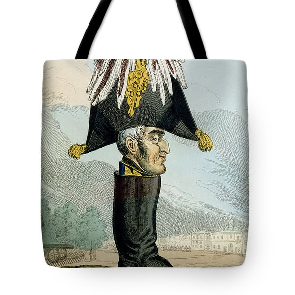 A Wellington Boot Or The Head Tote Bag
