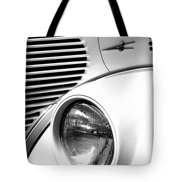 A White V8 Tote Bag by Paul W Faust -  Impressions of Light