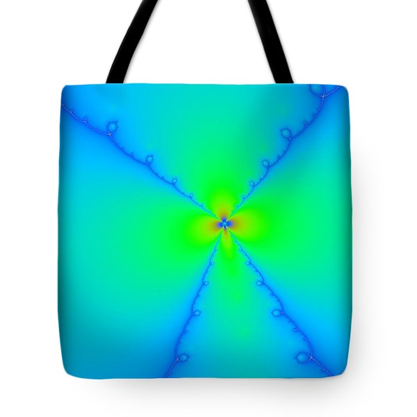 A Wild Woven Flower Tote Bag by Jeff Swan