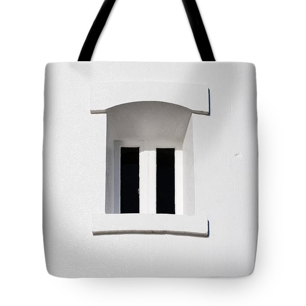 A Window In White Tote Bag