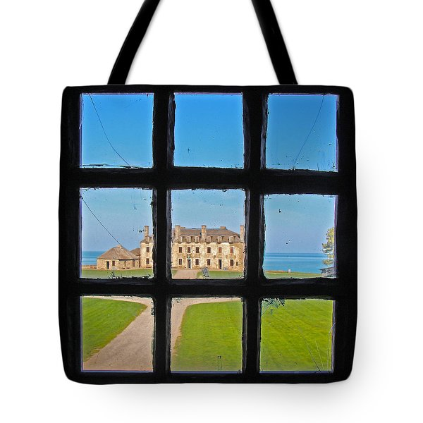 A Window To The Past Tote Bag by Kathleen Scanlan