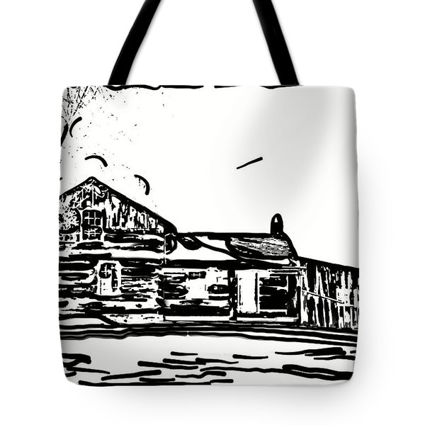 A Winter Dream 3 Tote Bag by Steve Harrington