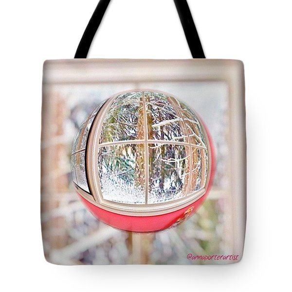 A Winter Marble From Christmas Past Tote Bag