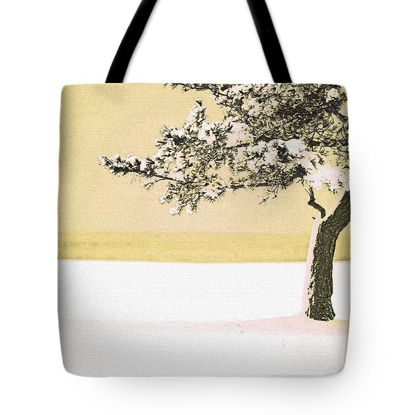 A Winter Moment Tote Bag by Karol Livote