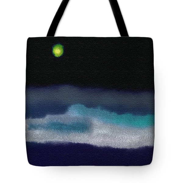 A Winter Night Tote Bag by Lenore Senior