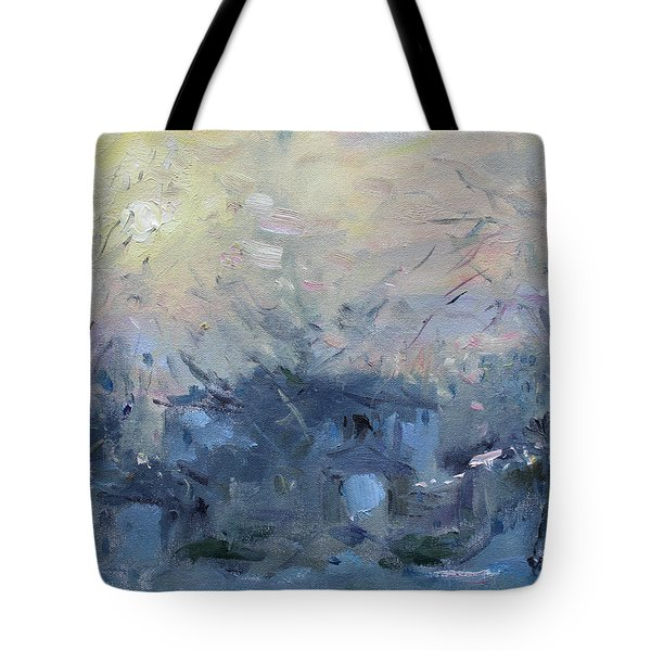 A Winter Sunrise Tote Bag