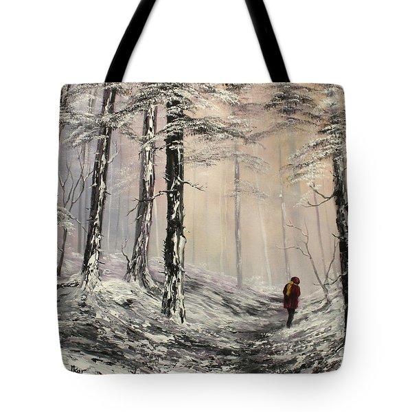 A Winter Walk Tote Bag