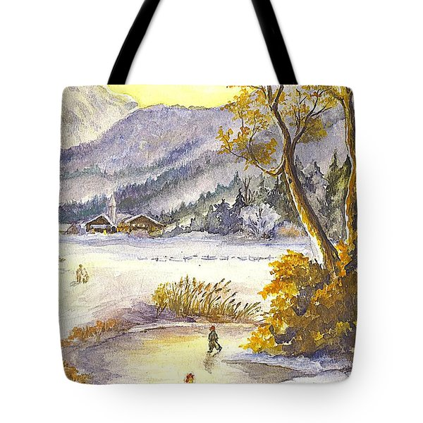 A Winter Wonderland Part 2 Tote Bag by Carol Wisniewski