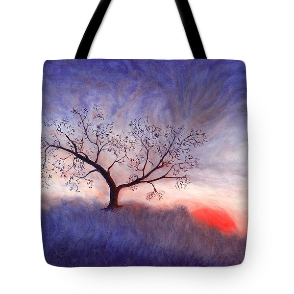 A Wintering Tree Tote Bag