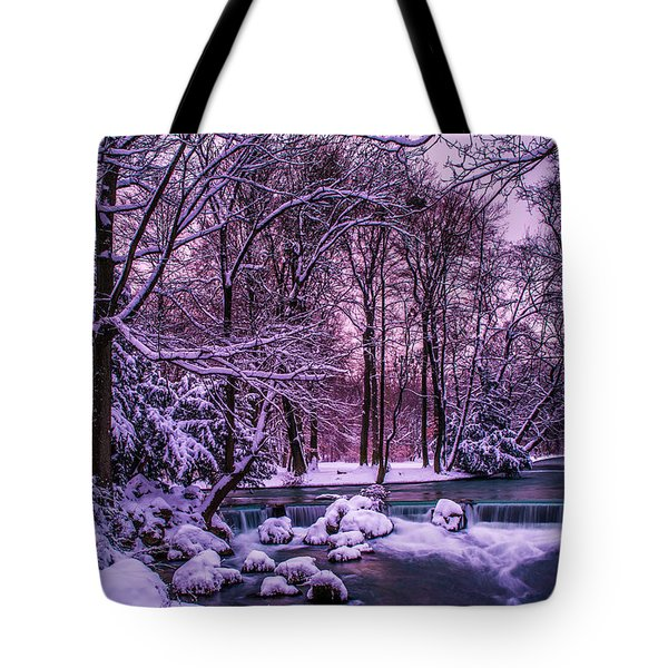 a winter's tale I - hdr Tote Bag by Hannes Cmarits