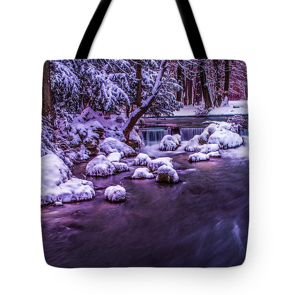 a winter's tale II - hdr Tote Bag by Hannes Cmarits