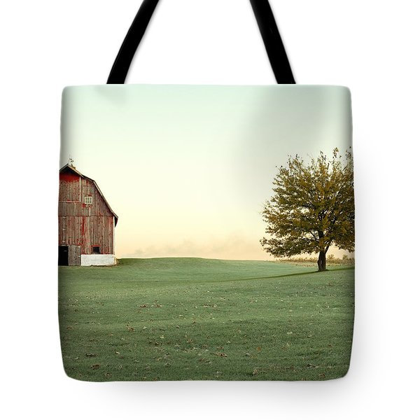 A Wisconsin Postcard Tote Bag by Todd Klassy
