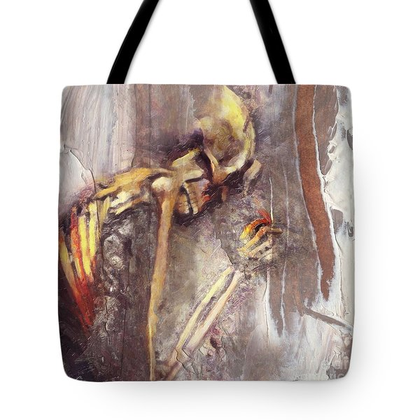 A Wish To Die Artistically Tote Bag